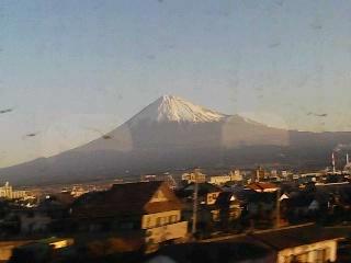 富士山は日本晴れ、車窓より 1/16
